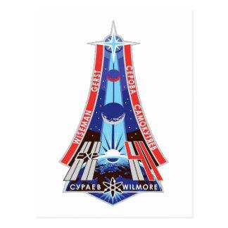 Equipos del ISS:  Expedición 41 Tarjeta Postal