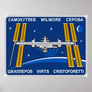 Equipos del ISS:  Expedición 42 Póster
