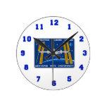 Equipos del ISS:  Expedición 42 Reloj De Pared