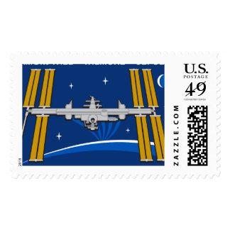 Equipos del ISS:  Expedición 42 Timbre Postal