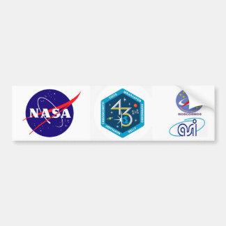 Equipos del ISS:  Expedición 43 Pegatina Para Auto