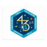Equipos del ISS:  Expedición 43 Tarjetas Postales