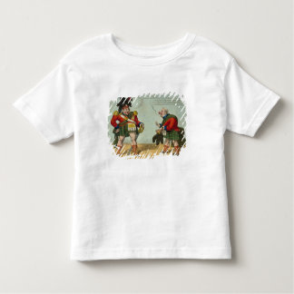 Equipt for a Northern Visit, 1822 Toddler T-shirt