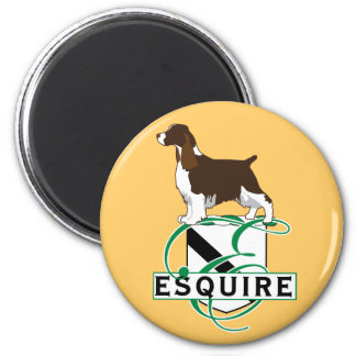 Equire English Springer Spaniels Refrigerator Magnets