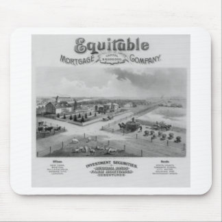Equitable Mortgage Co. 1888 Mouse Pad
