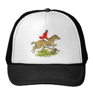 Equitación del cazador del puente de la caza de Fo Gorro De Camionero