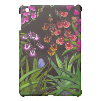 Equitant Oncidium Orchids and Butterflies Cover For The iPad Mini