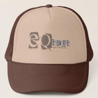 equitation trucker hat