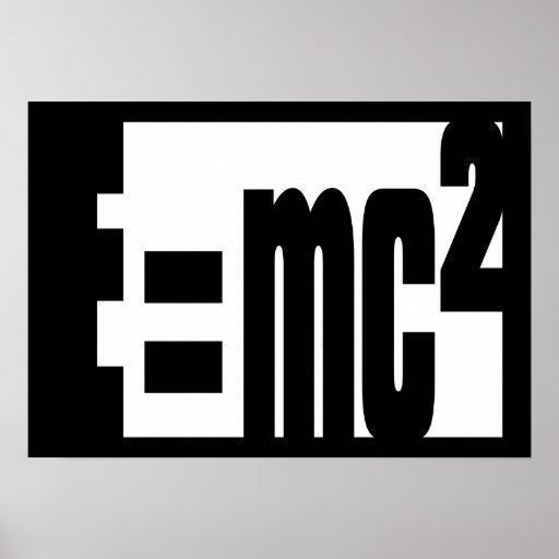 Equivalencia masa-energía impresiones