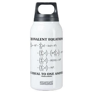 Equivalent Equations Are Equal To One Another Thermos Water Bottle