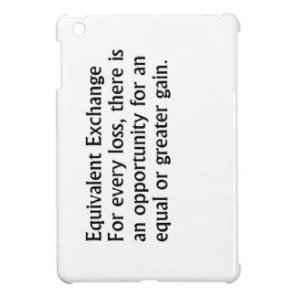 Equivalent Exchange iPad Mini Case