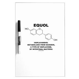 Equol Isoflavandiol metabolizado de Daidzein Pizarras Blancas