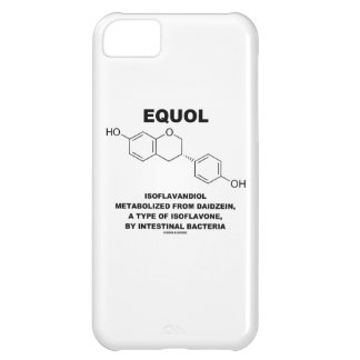 Equol Isoflavandiol Metabolized From Daidzein Cover For iPhone 5C