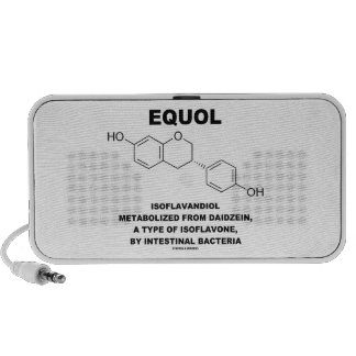 Equol Isoflavandiol Metabolized From Daidzein Portable Speakers