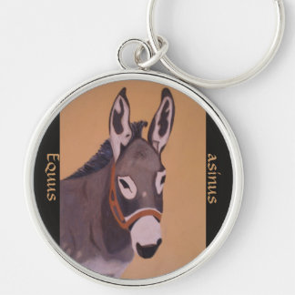 Equus asinus key chains
