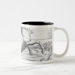 Equus Hispanus Two-Tone Coffee Mug