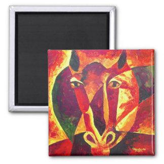Equus reborn 2009 magnet