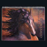 """Equus Untamed Horse Calendar<br><div class=""""desc"""">Share the noble majesty of these wild and untamed horses with your friends and family or treat yourself! Available in glorious over-size,  standard and small sizes. Artwork featured in the calendar is also available on other products.</div>"""
