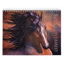 Equus Untamed Horse Calendar
