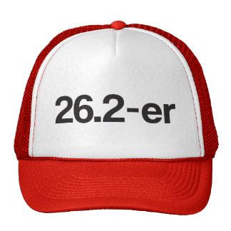 er © 26,2 o Marathoner - corredores de maratón Gorros
