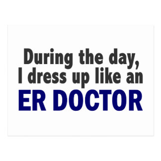 ER Doctor During The Day Postcard