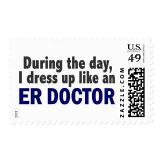 ER Doctor During The Day Stamp