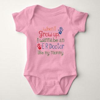 Er Doctor (Future) Like My Mommy Baby Bodysuit