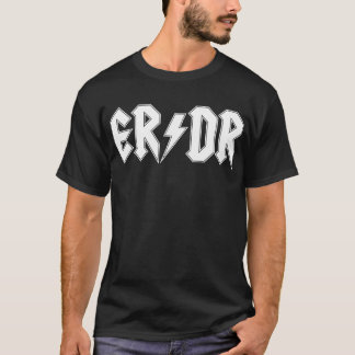 ER/DR Classic Men's Dark T-Shirt