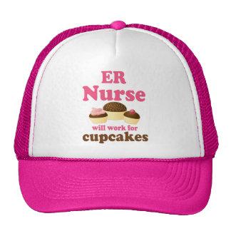 Er enfermera divertida gorra