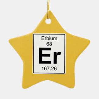 Er - Erbium Ceramic Ornament