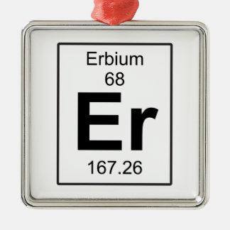 Er - Erbium Metal Ornament