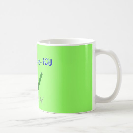 "ER ICU Nurse ""ETOH Abuse =Intubation"" Coffee Mug"