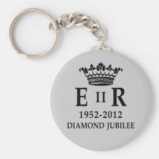 ER II Diamond Jubilee Keychain
