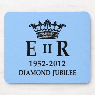 ER II Diamond Jubilee Mouse Pad