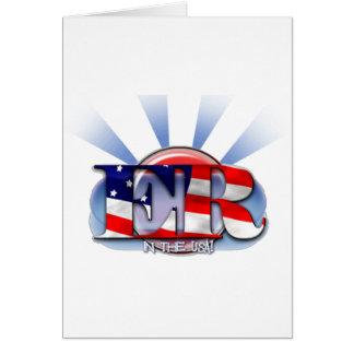 ER in the USA EMERGENCY RESPONDER Card