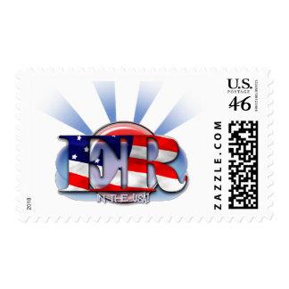 ER in the USA EMERGENCY RESPONDER Stamp
