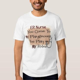 er la enfermera VIENE A MI PATIO MIS REGLAS Playeras