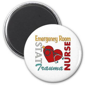 ER Nurse 2 Inch Round Magnet
