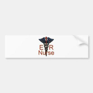 ER Nurse Bumper Sticker