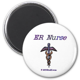 ER Nurse Caduceus Magnet