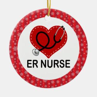 ER Nurse Christmas Gift Ornament