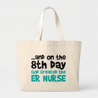 ER Nurse Creation Large Tote Bag