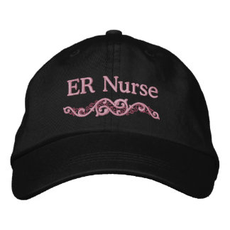 ER Nurse Custom Embroidered Hat