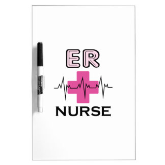 ER NURSE Dry-Erase BOARD