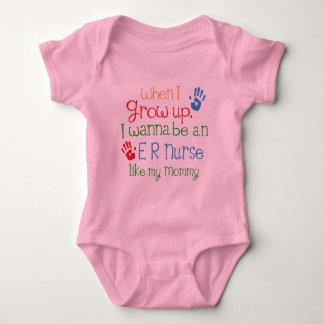 Er Nurse (Future) Like My Mommy Baby Bodysuit