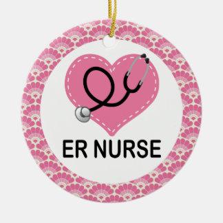 ER Nurse Gift Ornament