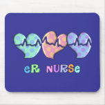 ER Nurse Gifts Mouse Pad