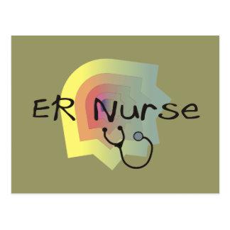 ER Nurse Gifts Postcard