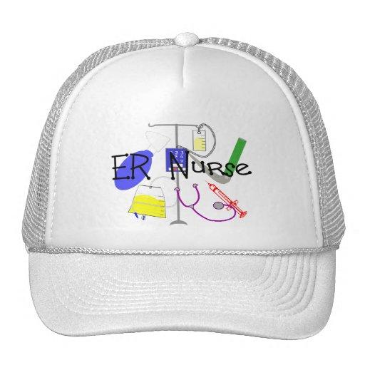 ER Nurse Medical Equipment Design Hats