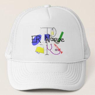 ER Nurse Medical Equipment Design Trucker Hat
